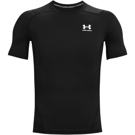 Under Armour HeatGear Armour Short Sleeve Shirt Men black-white